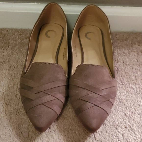 DSW Shoes | New Gray Ballet Flats Size